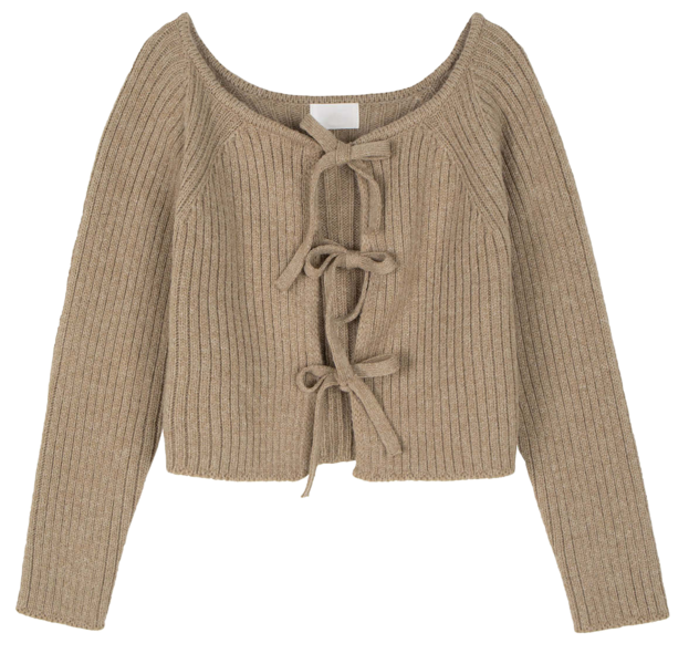 Two-way lovely knit cardigan 開襟衫