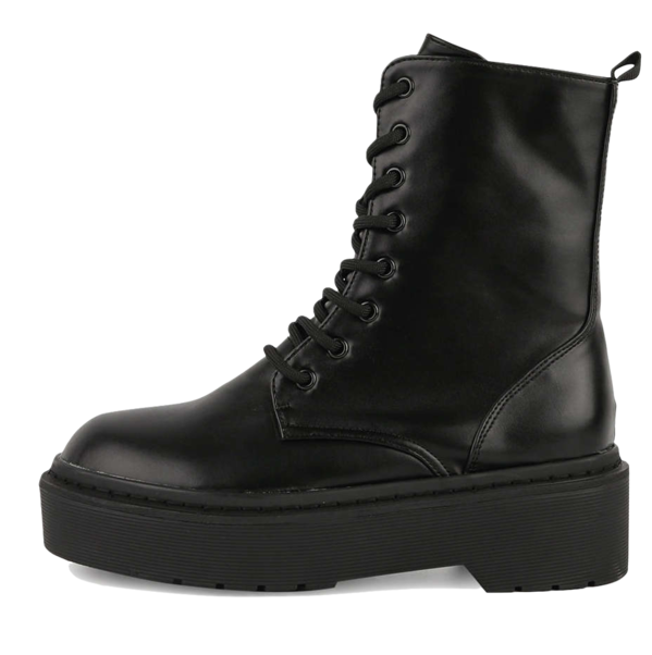 Dark lace-up walker boots 靴子