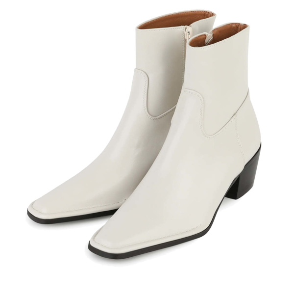 Stove middle-heel ankle boots