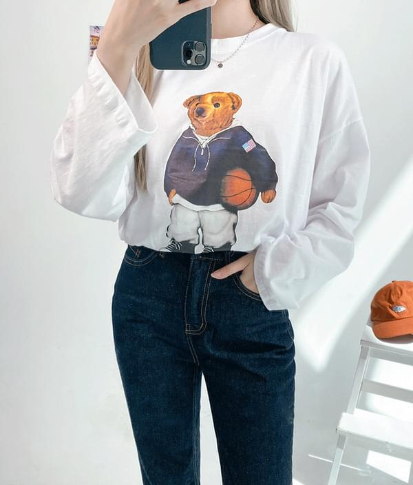 Cute Bear Long Sleeve