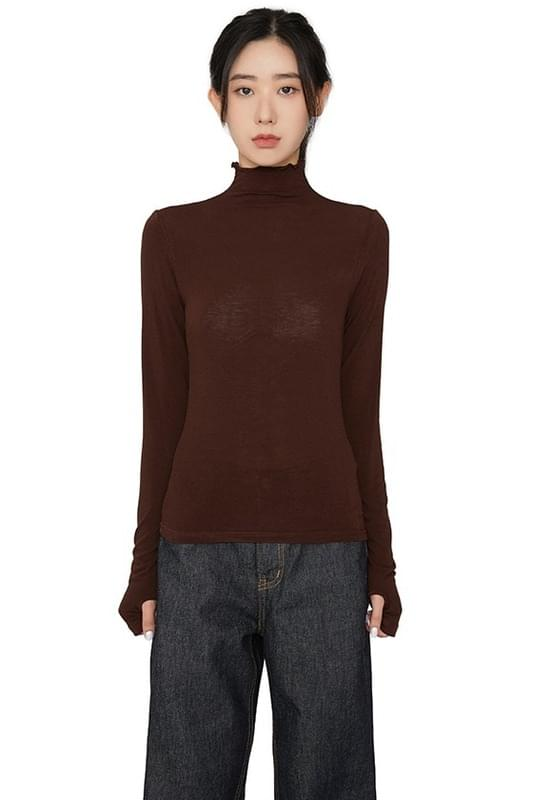 Troy warmer turtleneck casual top