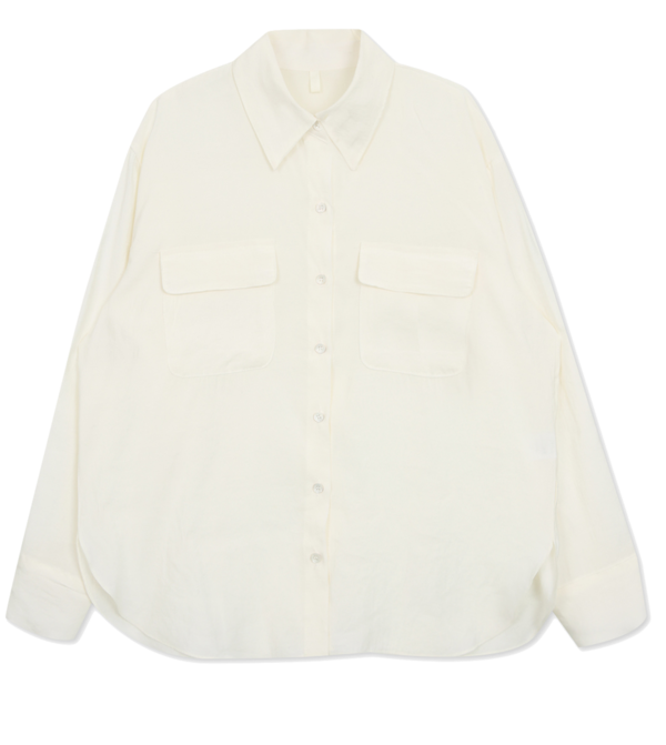 Two pocket shirt blouse