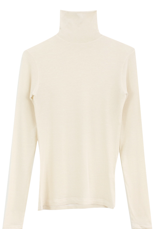 Melo Tencel Turtleneck T-Shirt 長袖上衣
