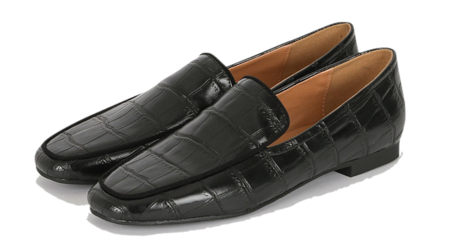 Sonia black formal loafers
