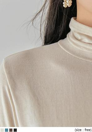 WEEKLY SOFT BASIC TURTLE NECK T