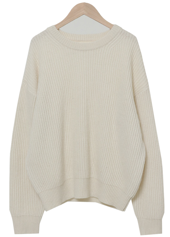 Stay Round Wool Knit