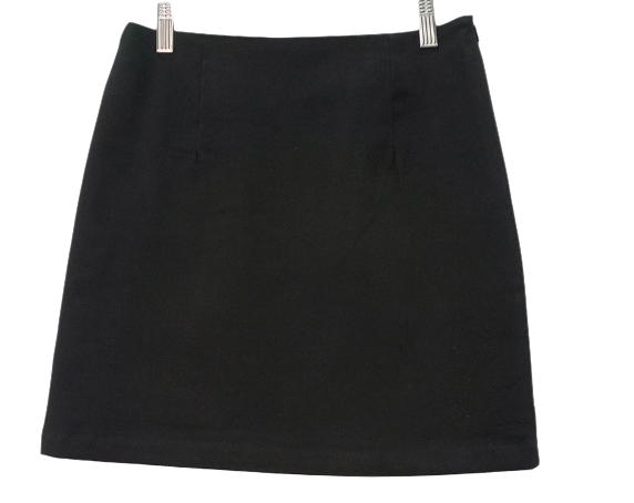 Basic minimalist brushed skirt