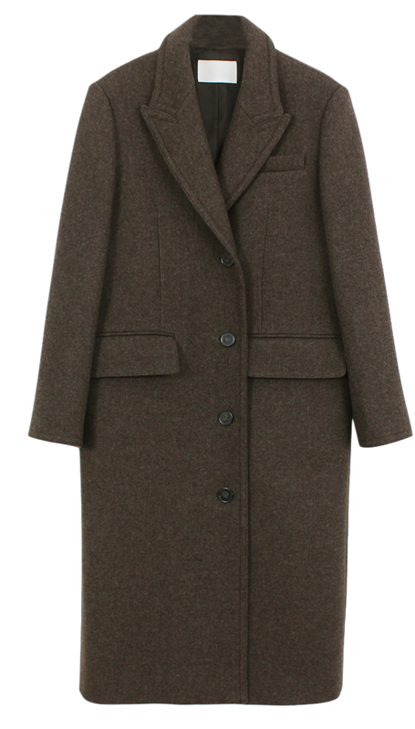 Two-way Wool Coat コート