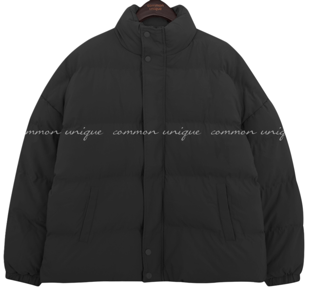 High Neck Wellon Padded Jacket