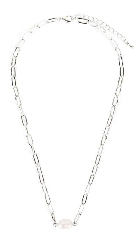 Terry pearl chain necklace 項鍊