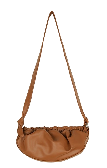 Framed shirred bag