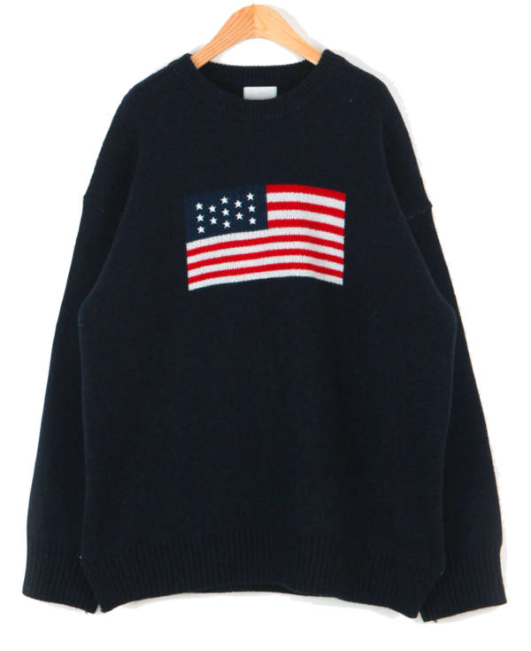 Tom Stars and Stripes Rams Wool Knit