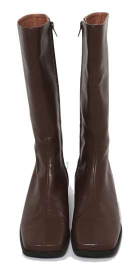 Half Square Middle Boots