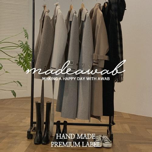 #AWABMADE:_ 3rd handmade coat for you-wool80%/re:open♥Thank you for discount event