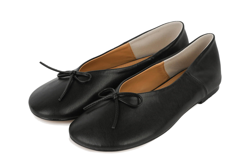 Today Ribbon Flat Shoes