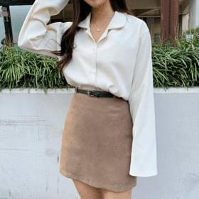 Linda Daily Plain Shirt