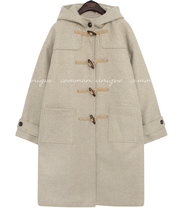 Quilt Lined Duffle Coat