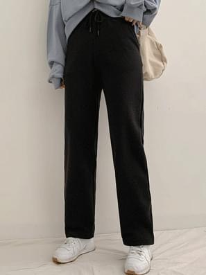 Fleece-lined date training pants