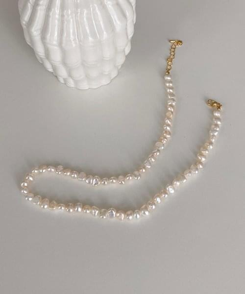 pearlstone necklace ネックレス