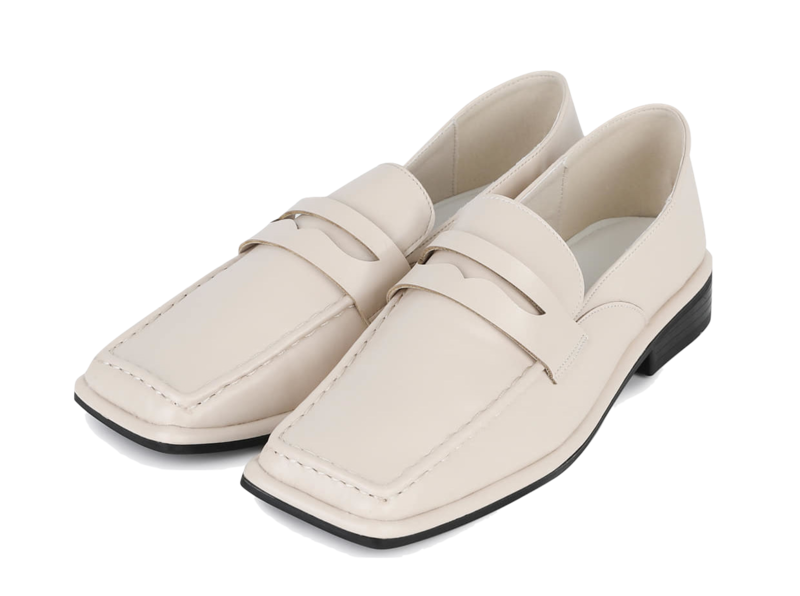 Burry Square Penny Loafers