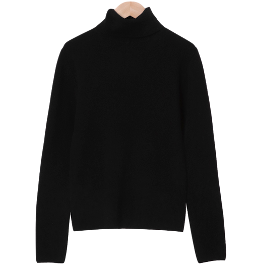 Warming Pine Wool Cashmere Turtleneck Knitwear 針織衫