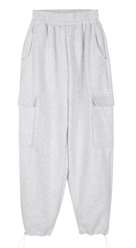 Early brushed jogger pants