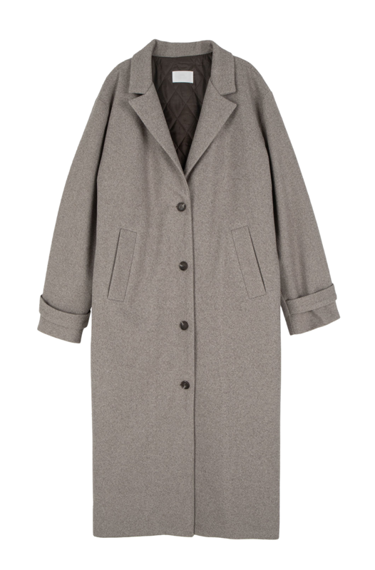 Nine oversized single long coat