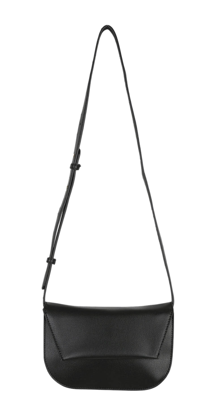 Black square shoulder bag