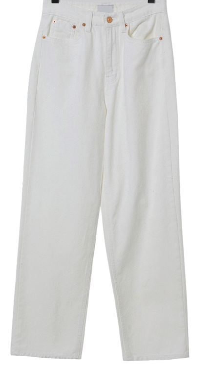 Musk Fleece-lined wide pants