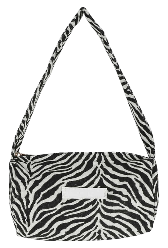Mini zebra cylinder shoulder bag 肩背包
