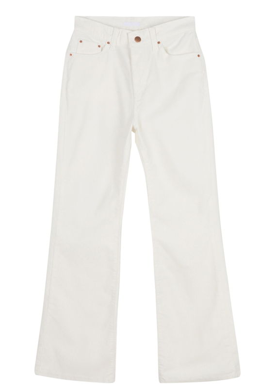 Pauling high-rise bootcut trousers