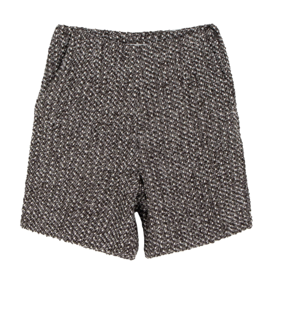 Ferris tweed mini shorts