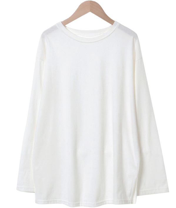 Warm Basic Loose Fit T-shirt