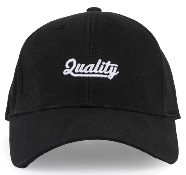 Quality lettering cap