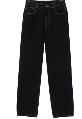 Salt date Fleece-lined denim pants