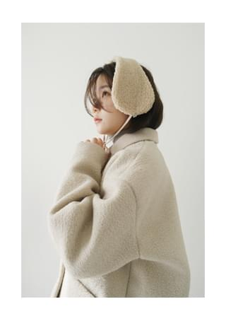 fluffy ear warmer (4colors)