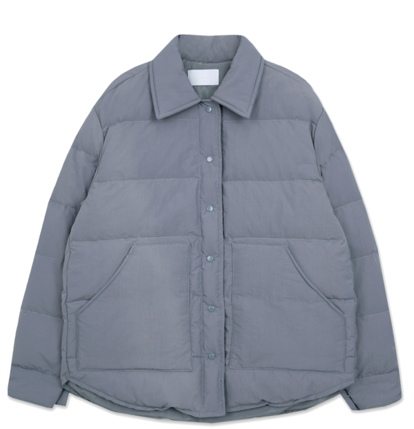 Casual collar duck down padded jacket