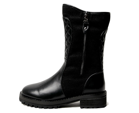 Lecoen Qualting Middle Boots 4cm