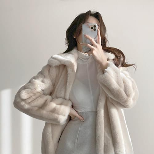 Fake Fur Mink Fur Jacket jacket
