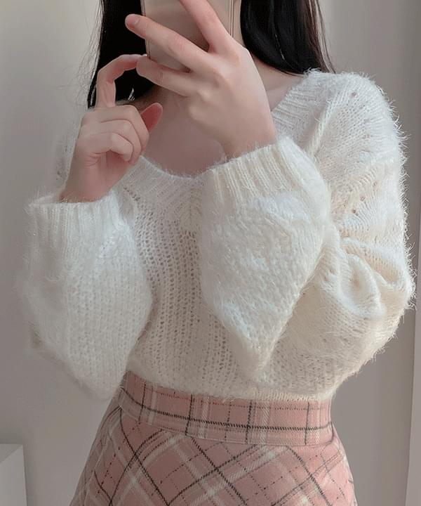 The Yeo-ri twisted twinkle knit 3color