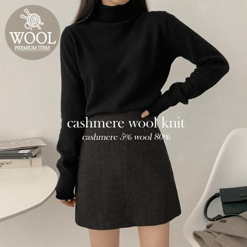 On Turtle Cashmere Wool Knit