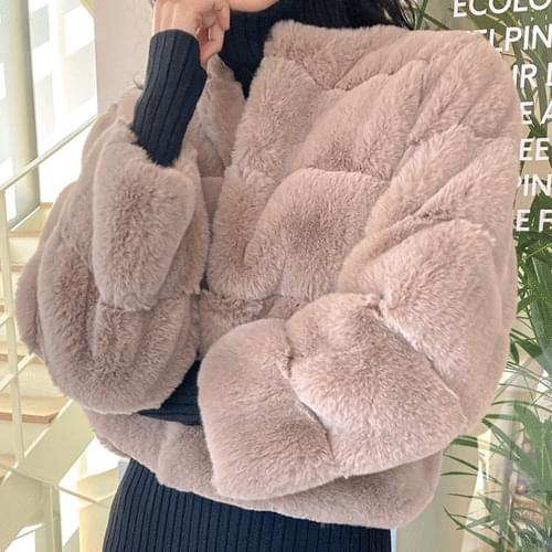 Lowest price! Snow Fur Jacket O#YW387