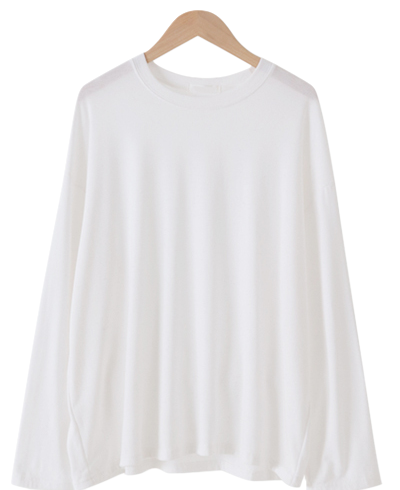 Topping brushed over fit T-shirt