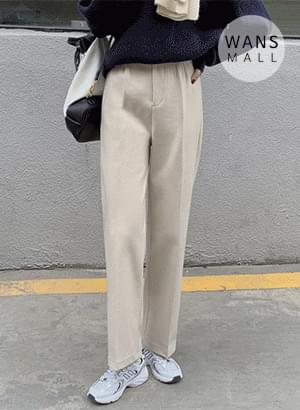 sl3532 tantan straight fit wool slacks