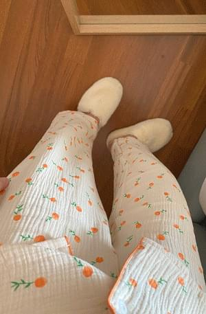 Grapefruit Pajama Set 套裝