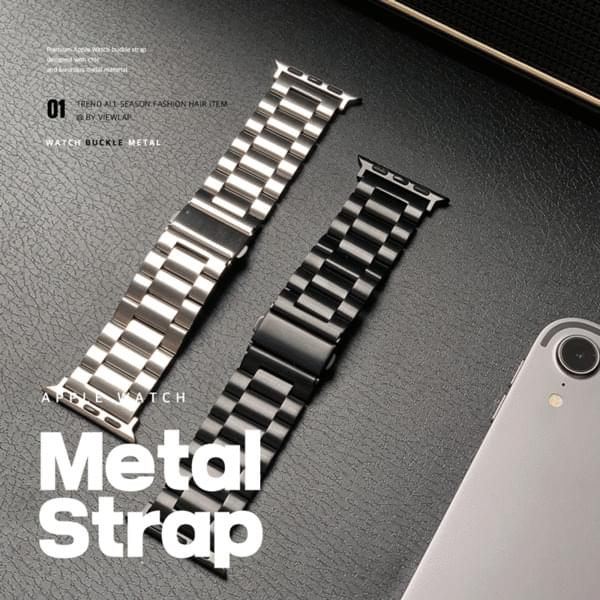 Apple Watch Metal Buckle Strap Band 2color