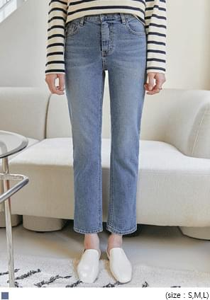 Whiskered Ankle Grazer Jeans