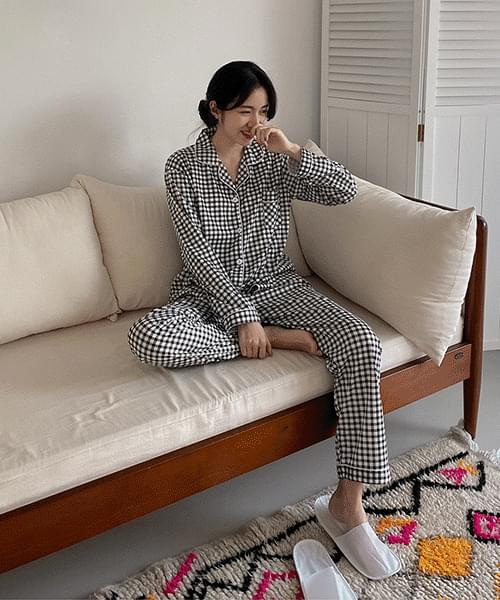 Punch Check Pajama-set
