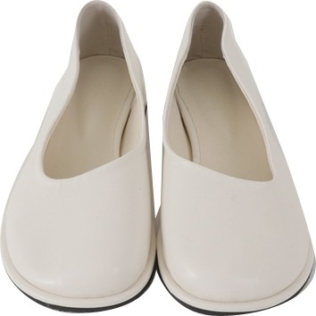 Blunt Round Flat Shoes