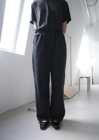 wearable cotton banding pants